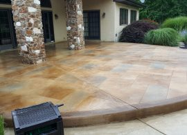 Earth Tone Slate With Solid Border (2)