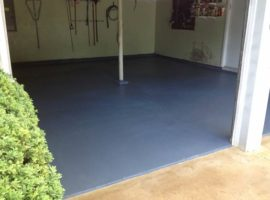 Garage Grey Epoxy Flooring