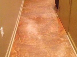 Interior No Design Texture Hallway Floor